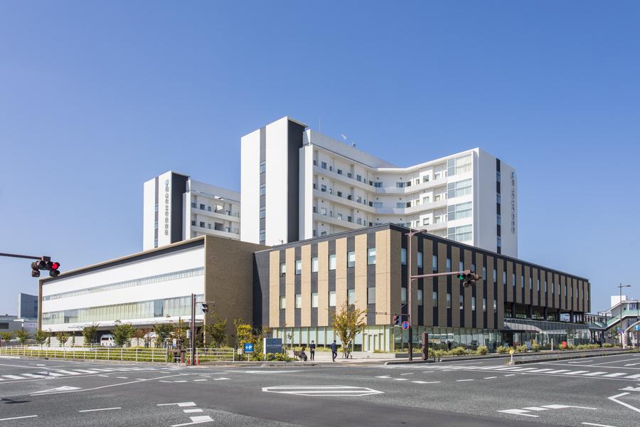 病院の外観です